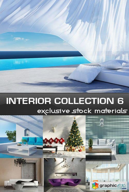 Collection of Interiors Vol.6, 25xJPG