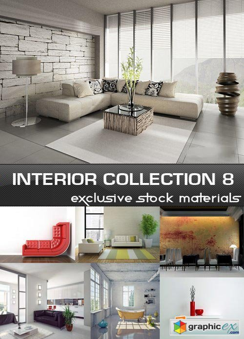 Collection of Interiors Vol.8, 25xJPG