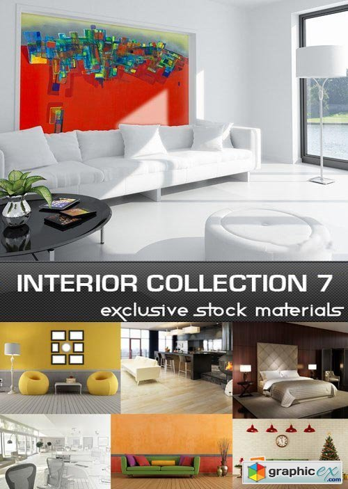 Collection of Interiors Vol.7, 25xJPG