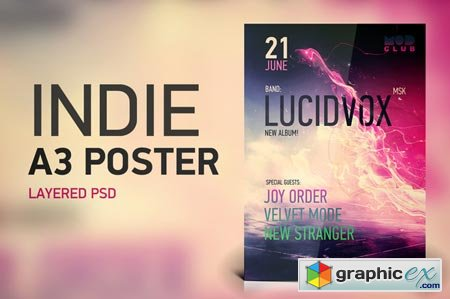 Indie A3 Poster 44033