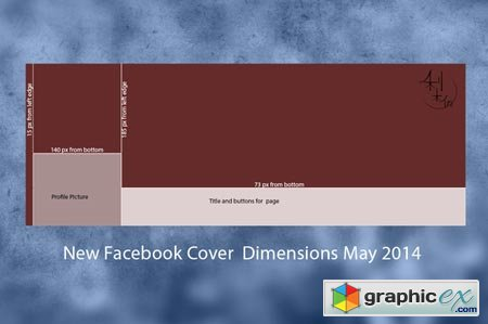 New Facebook Cover Template 44035