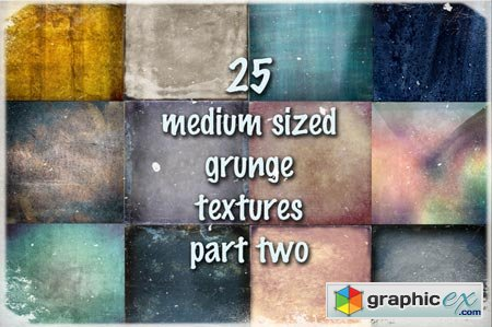 Medium Sized Grunge Textures Part 2 13133