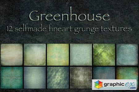 GreenHouse - 12 green textures 26469
