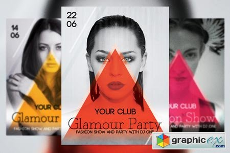 Glamour Party Flyer 42603