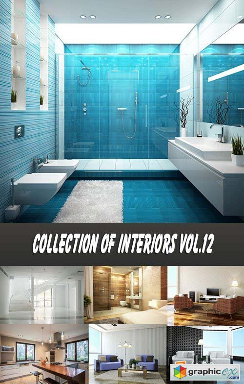 Collection of Interiors Vol.12, 25xJPG