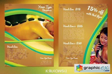 Spa 2 Sided Flyer 43655