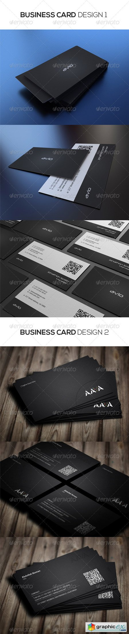 2 in 1 Business Cards Bundle 5935141