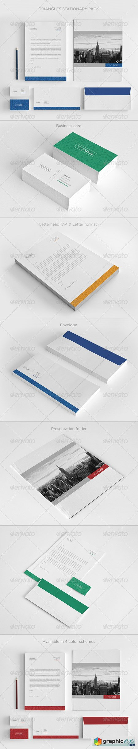 Real Estate Stationary Pack