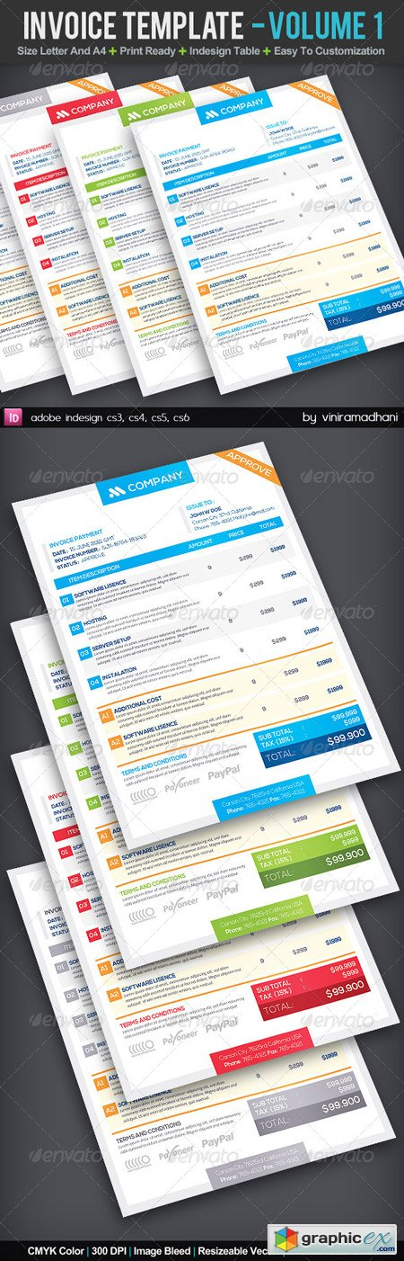 Invoice Template Volume 1