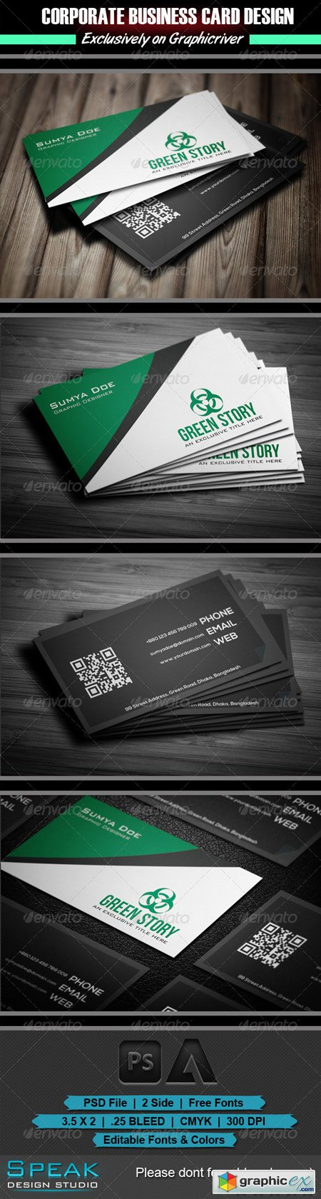 Green Story Business Card