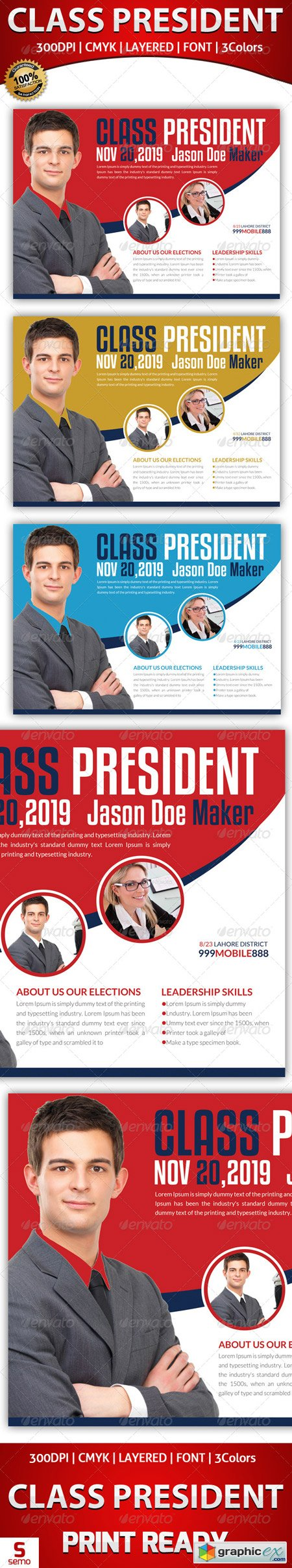 Elections Flyer Template 5938674
