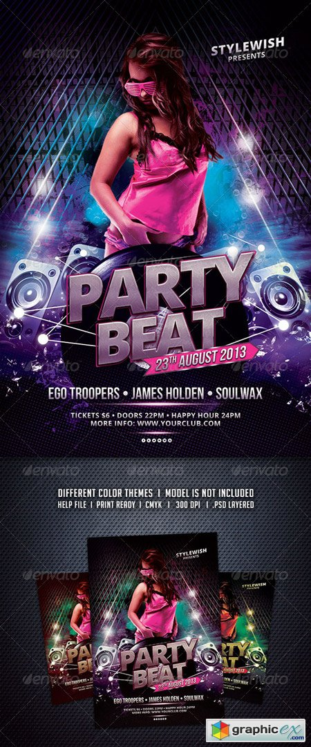 Party Beat Flyer
