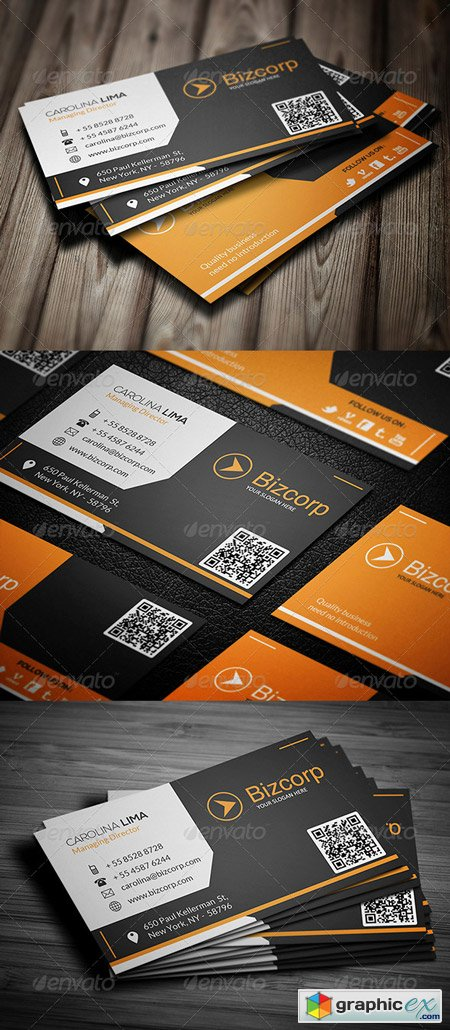 Corporate Business Card 084