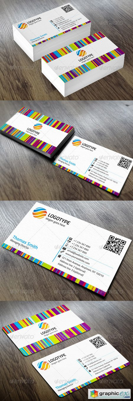 Corporate Business Card 5736745