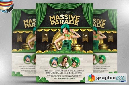 Saint Patrick's Day Massive Parade 22432