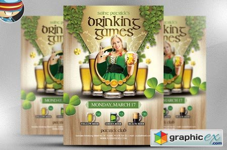 St. Patrick's Day Drinking Games 22479
