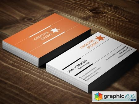 Creative & Corporate Business Card 22597