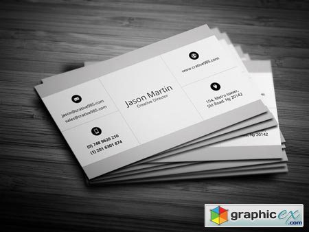 Corporate Business Card 22601