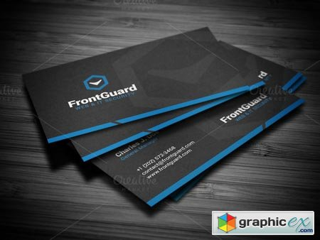 Smart Corporate Business Card 22203