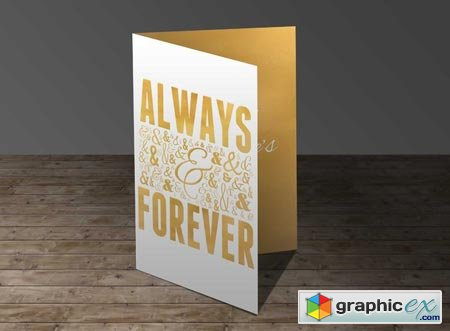 Always & Forever Greeting Card 22103