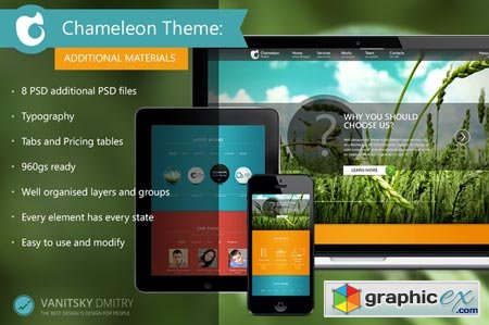 Chameleon Theme (Additional) 21790