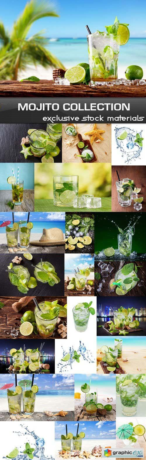 Mojito Collection, 25xUHQ JPEG
