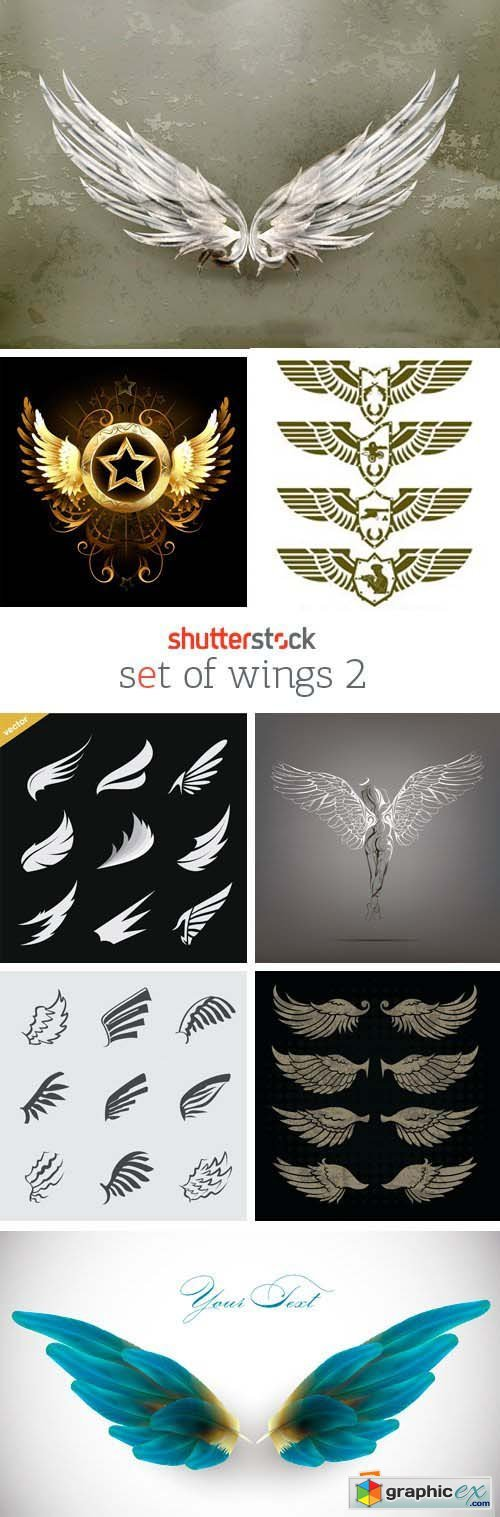 Amazing SS - Set of Wings 2, 25xEPS