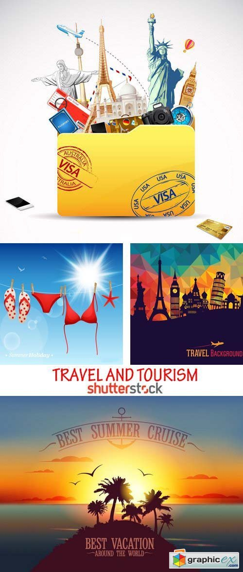 Amazing SS - Travel and tourism, 25xEPS