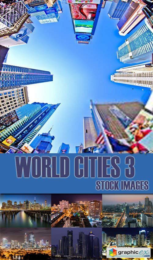 Shutterstock - World Cities 3, 25xJpg