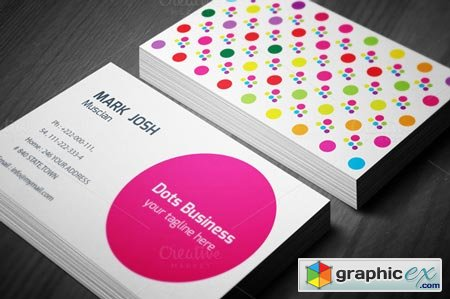 Doted Business Card 45710
