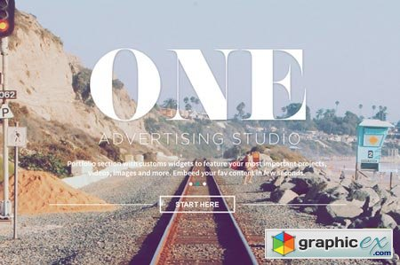 One - Adobe Muse Theme 21143