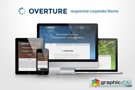 Overture - Responsive Corporate site 21480
