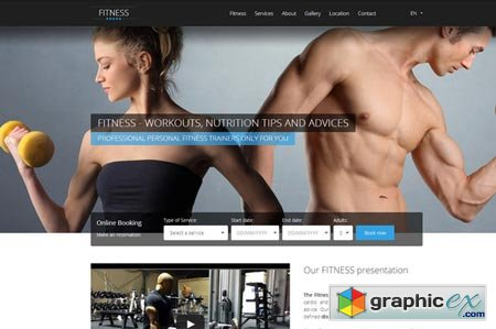 HOTFIT - Hotel and Fitness Template 21568