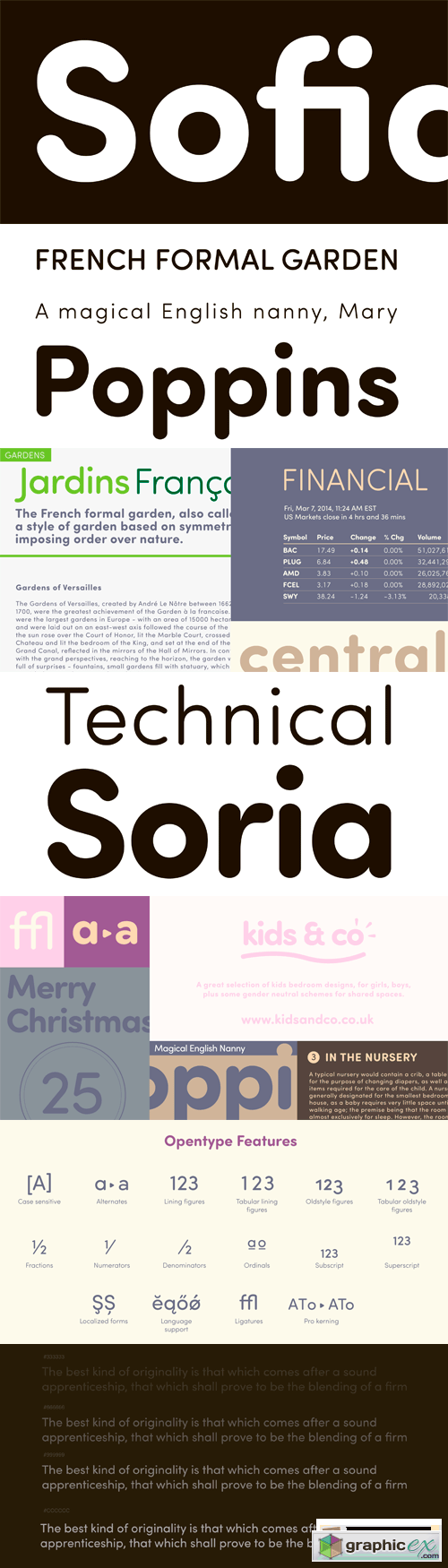 Sofia Pro Soft Font Family - 8 Fonts for $129