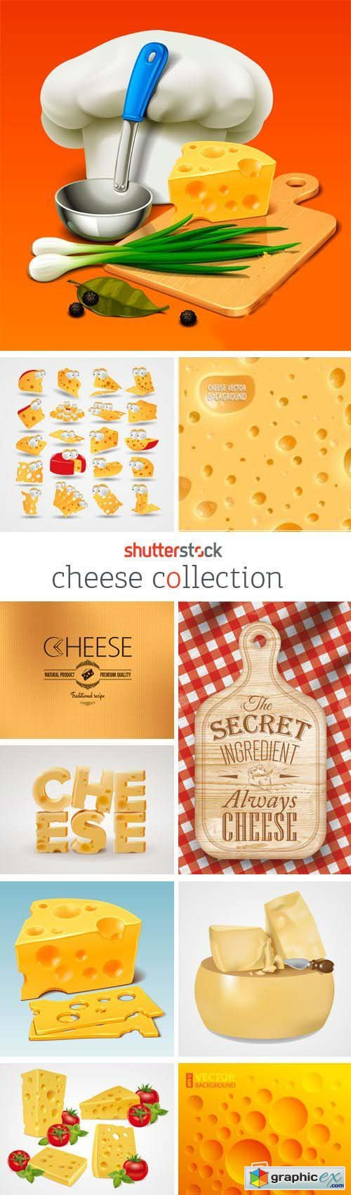 Amazing SS - Cheese Collection, 25xEPS