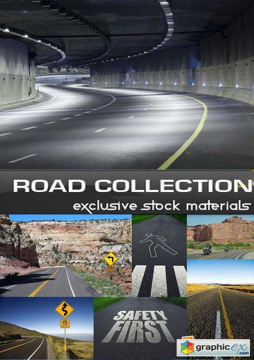 Roads Collection, 25xUHQ JPEG