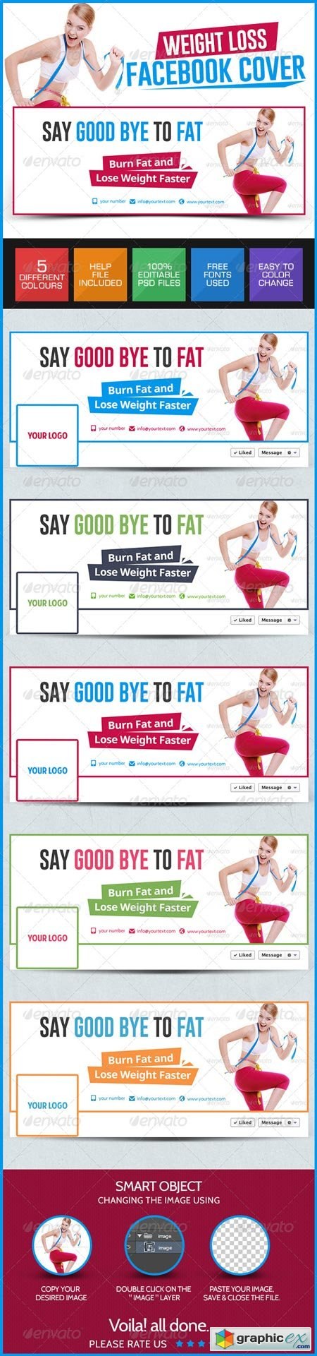 Weight Loss Facebook Covers 7878750