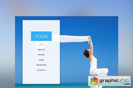 Yoga – One Page Multi-Purpose Muse 45263