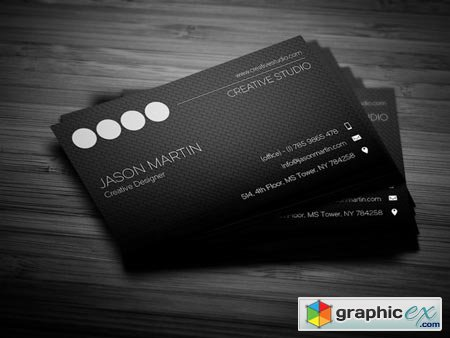 Creative Employee Business Card 44916