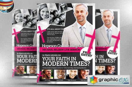 church flyers templates free download