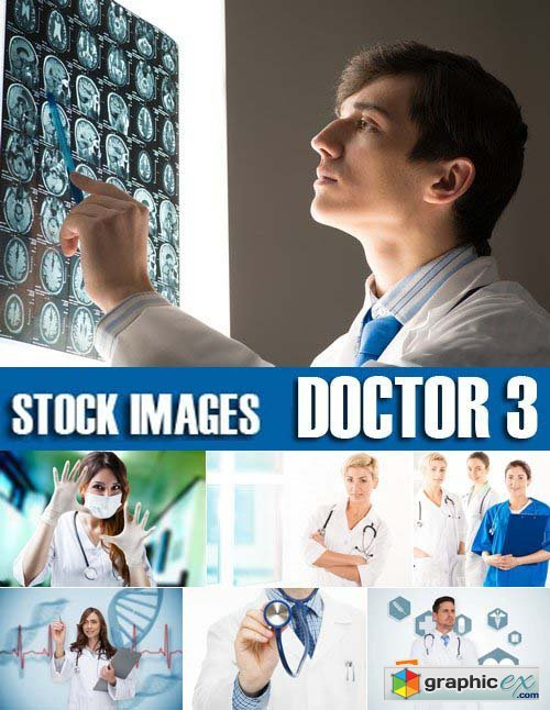 Stock Photos - Doctor 3, 25xJPG