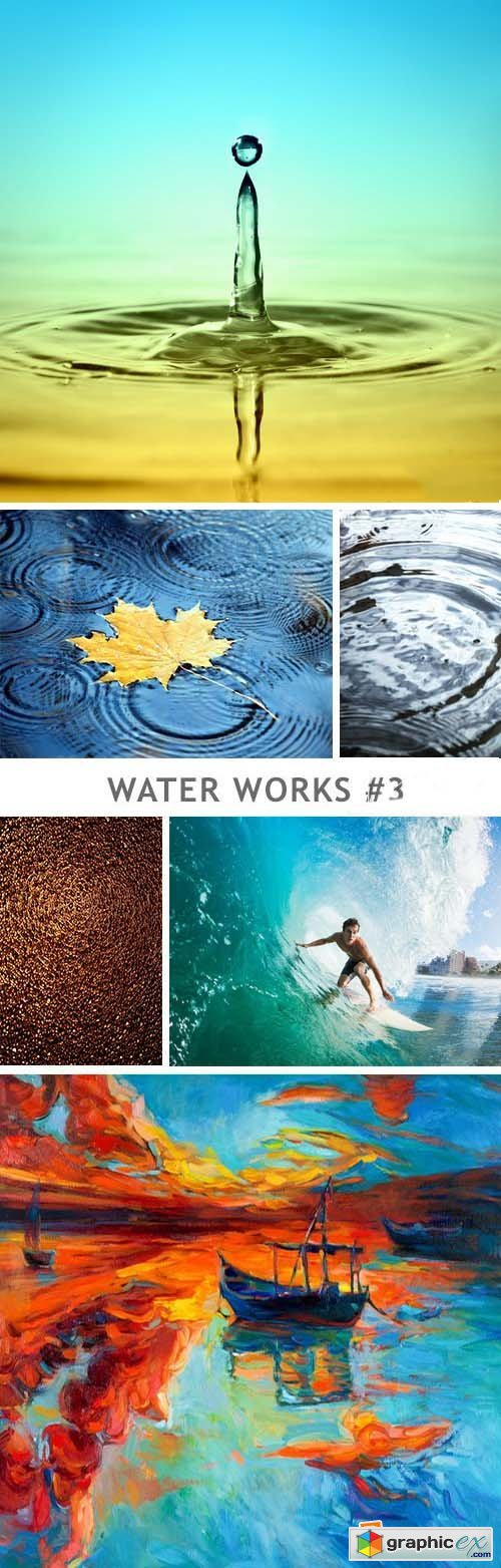 Water Works - 3 - 20xJPG+5xEPS