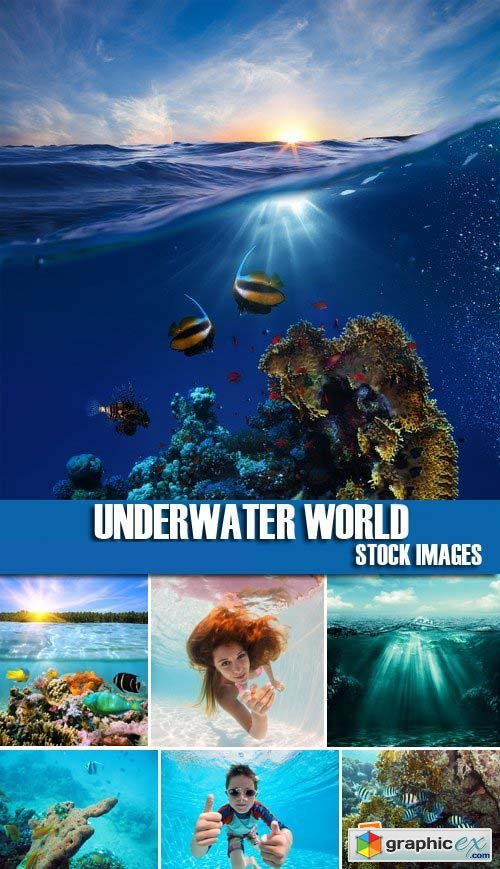 Stock Photos - Underwater World 25xJPG