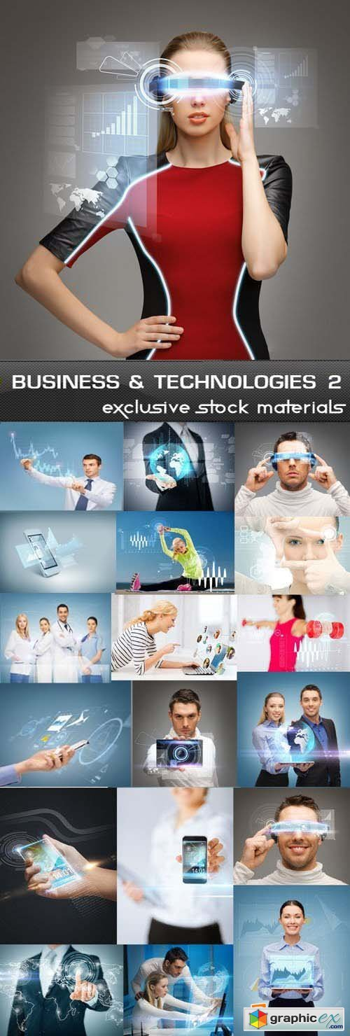 Business & Technologies #2, 25xJPG