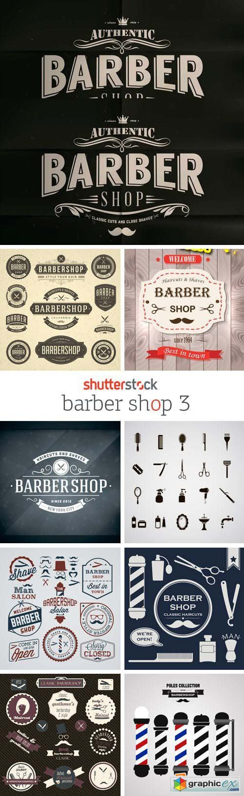 Amazing SS - Barber Shop 3, 25xEPS