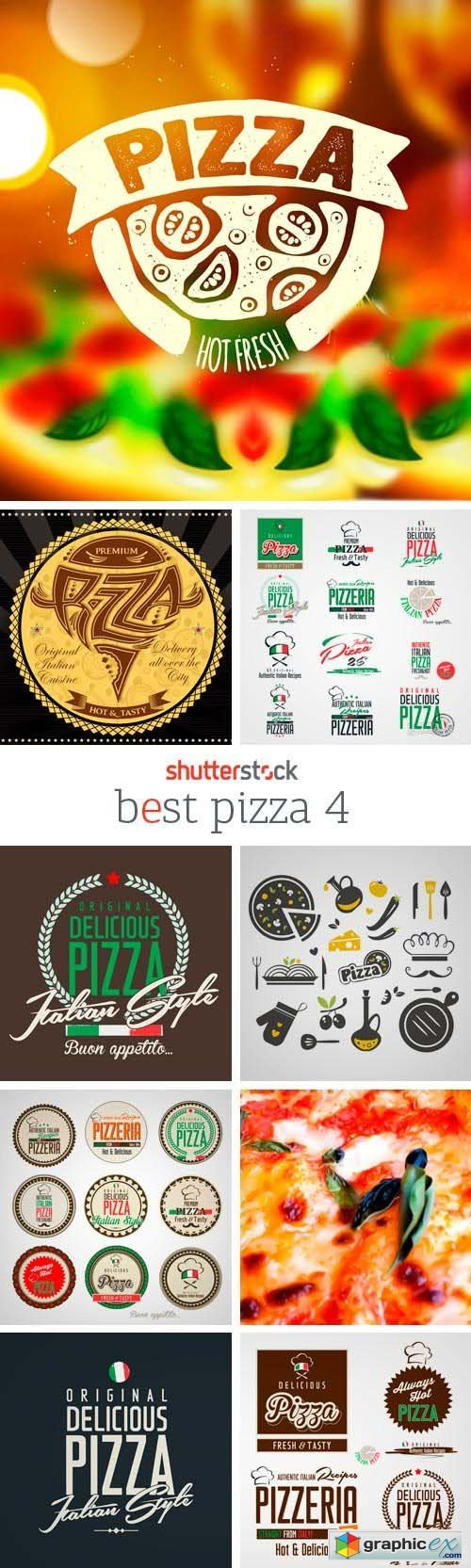 Amazing SS - Best Pizza 4, 25xEPS
