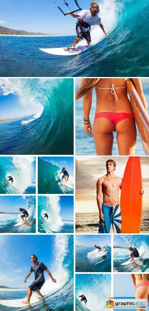 Surfing Collection 25xJPG