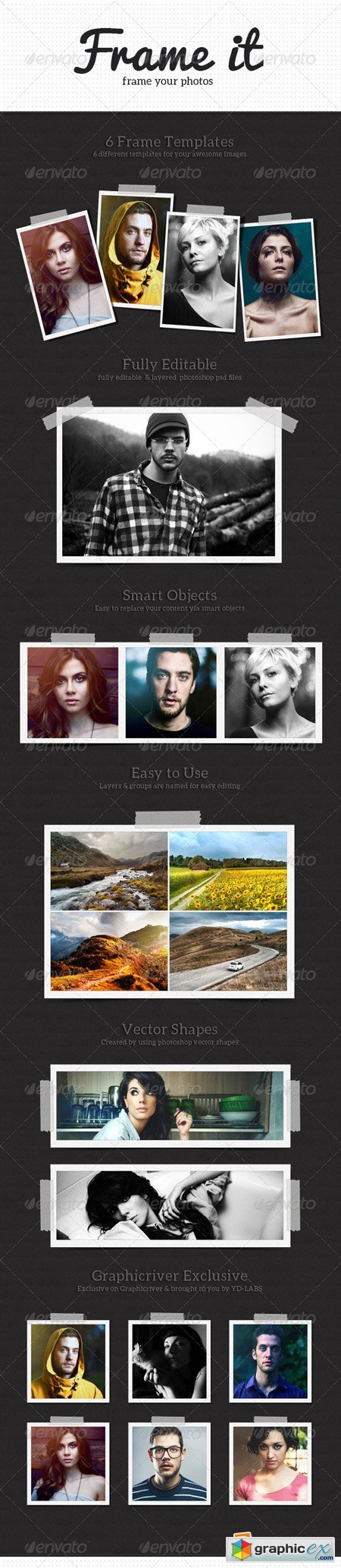 Frame It Photo Templates 5245052