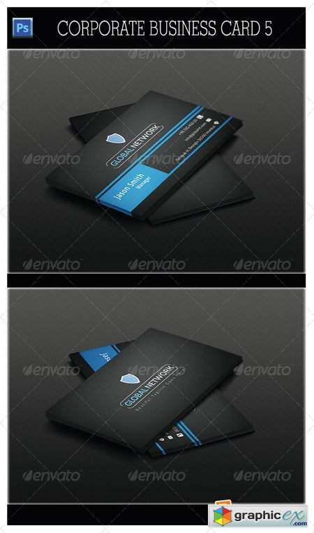 Corporate Business Card 5 5383843