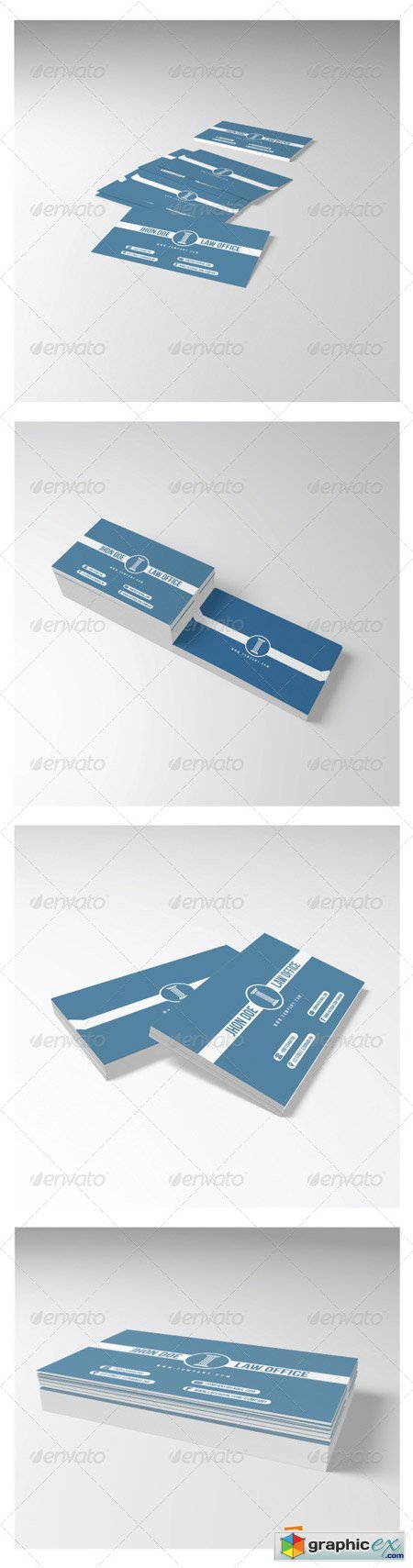 Law Office Business Card 5384177
